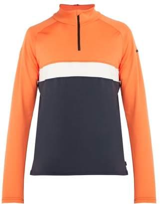 Capranea - Skin Technical Jersey Mid Layer Top - Mens - Orange Multi