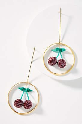 Mishky Swinging Cherry Drop Earrings