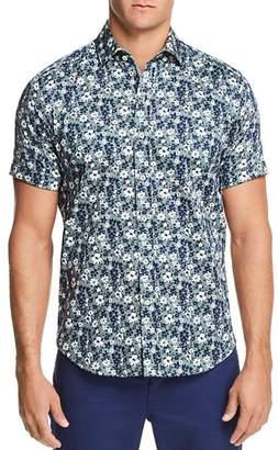 Robert Graham Asher Tropical Short Sleeve Button-Down Shirt - 100% Exclusive