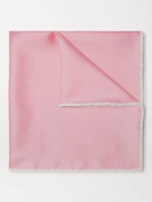 Emma Willis Silk-Twill Pocket Square - Men - Pink