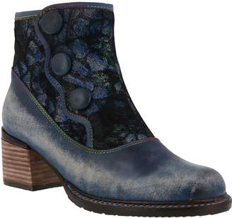 Spring Step L'Artiste by Leather Booties - Gabory