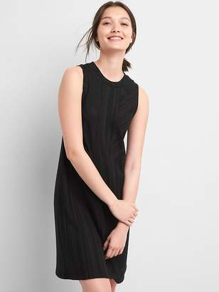 Gap Ribbed Softspun Sleeveless Panel Dress
