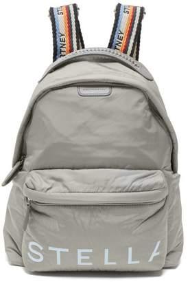 Stella McCartney Rainbow Strap Padded Backpack - Womens - Grey Multi