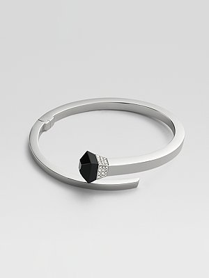 Gucci Black Onyx, Diamond & 18K White Gold Bracelet