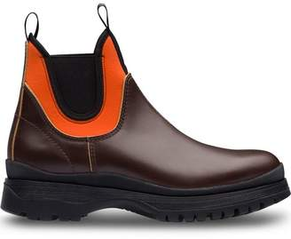 Prada colour-block ankle boots