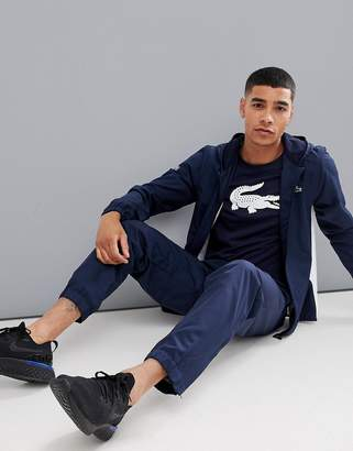 Lacoste Sport tracksuit in navy