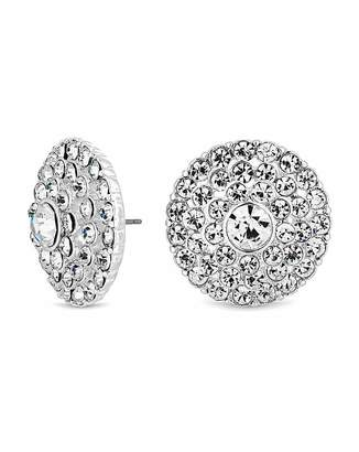08065c4db Jon Richard Mood By Mood Silver Plated Round Stud Earring