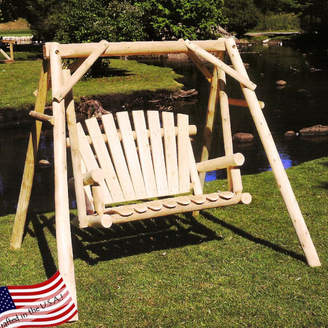 Lakeland Mills Porch Swing with Stand