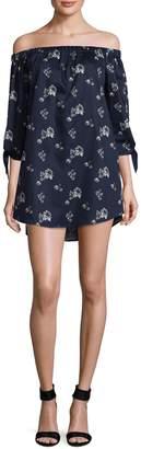 Lucca Couture Women's Eliana Cotton Off the Shoulder Dress