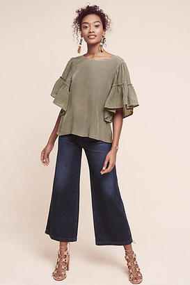 Maven West Edrae Flutter Top $158 thestylecure.com