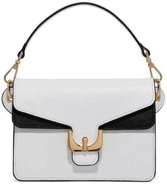 Coccinelle Ambrine Mini Black And Withe Bag