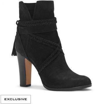 Vince Camuto Cyndia – Braid-wrapped Bootie $189 thestylecure.com