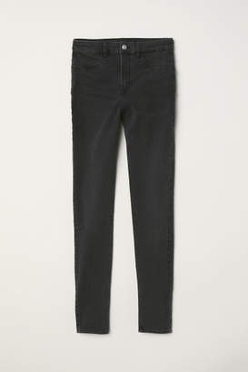 H&M Super Skinny High Jeans - Gray