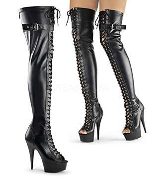Pleaser USA DEL3025/BPU/M Women's Boot