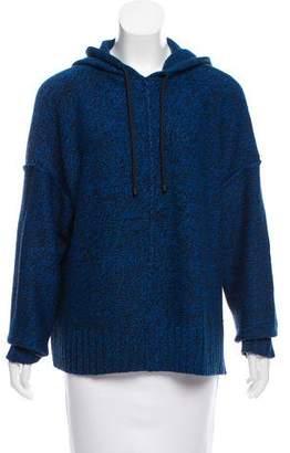 Alexander Wang Hooded Knit Sweater