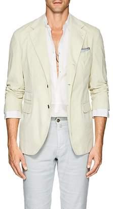 Massimo Alba Men's Cotton Corduroy Three-Button Sportcoat