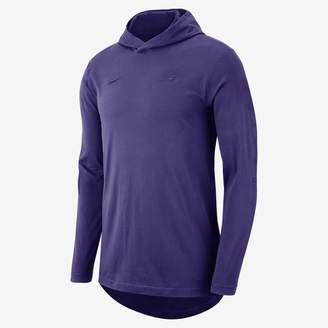 Nike Los Angeles Lakers Men's Hooded Long-Sleeve NBA T-Shirt