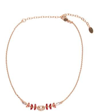 Juicy Couture Crown Gem Chain Choker
