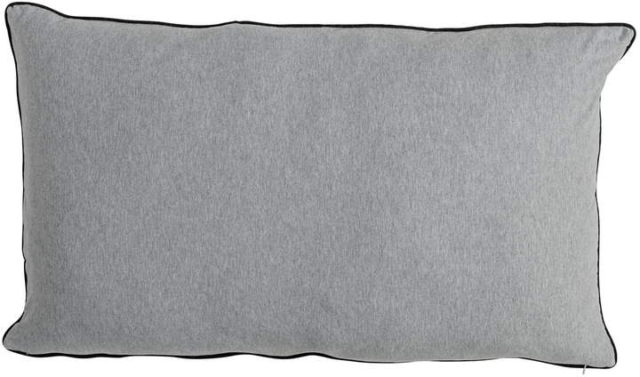 Bloomingville - Jersey Kissen 90 x 50 cm, Hellgrau