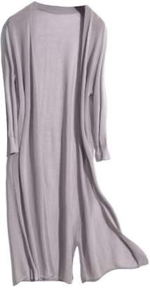 Goodnight Macaroon 'Hebe' Sheer Long Open Cardigan (4 Colors)