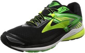 Brooks Men's Ravenna 8 Running Shoe (BRK-110248 1D 40234D0 12 BLK/GREEN/NIGH)