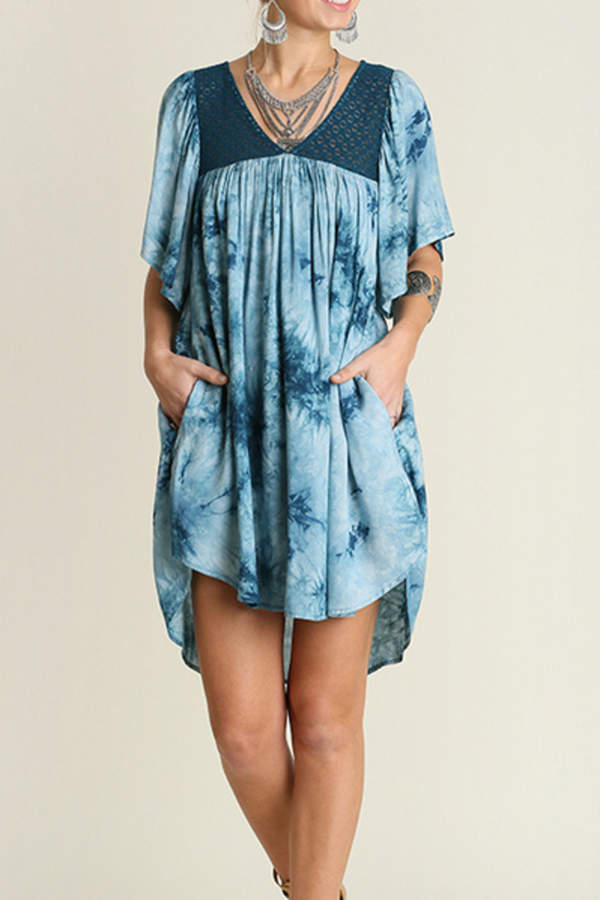 Umgee USA Crystal Washed Dress