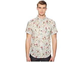 Naked & Famous Denim Antique Botanical Painting Shirt Men's Clothing