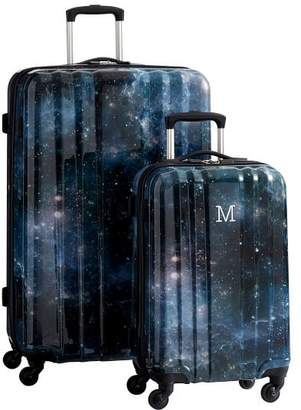 Pottery Barn Teen Channeled Hard-Sided Galaxy Luggage Bundle, Set of 2