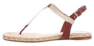 Hermes Ankle Strap Espadrille Sandals