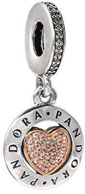 Pandora Women Silver Bead Charm - 792082CZ