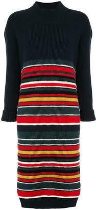 Coohem striped sweater midi dress