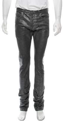 Christian Dior Coated Skinny Jeans