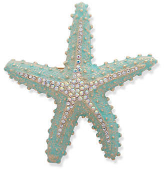 Anne Klein Boxed Starfish Crystal Pin