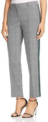 BOSS Torominala Glen Plaid Ankle Pants