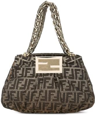 Fendi Pre-Owned Zucca pattern chain handbag