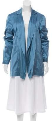 Marques Almeida Marques' Almeida Silk Open Front Blazer