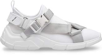 Prada harness strap sneakers