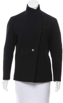 IRO Wool Stand Collar Jacket