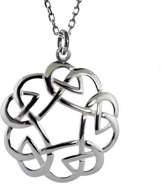 Celtic Jmh Jewellery JMH Jewellery Open Weave Eternal Love Pendant