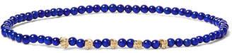 Luis Morais 14-Karat Gold and Bead Bracelet - Men - Blue