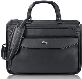 JCPenney Solo SOLO Classic 16 Triple-Compartment Laptop Briefcase