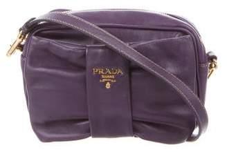 Prada Nappa Bow Crossbody Bag