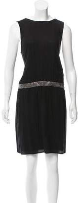 Comptoir des Cotonniers Embellished Knee-Length Dress w/ Tags