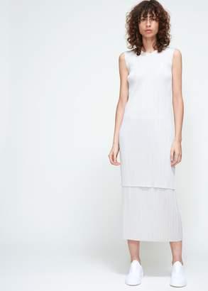 Pleats Please Issey Miyake Long Tank Dress