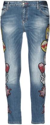 Philipp Plein Denim pants - Item 42707304RD