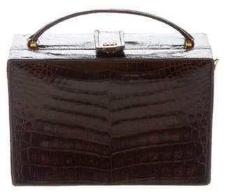 Chanel Crocodile Handle Bag