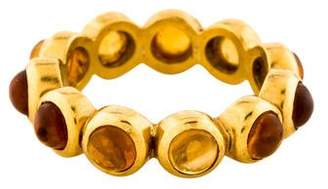 Temple St. Clair 22K Citrine Eternity Band