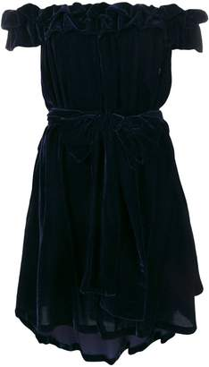 Stella McCartney off-shoulder mini dress