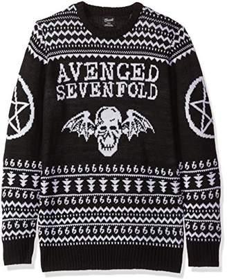 FEA Men's Avenged Sevenfold Ugly Christmas Sweater