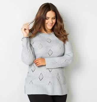 Avenue Zig Zag Shimmer Pullover